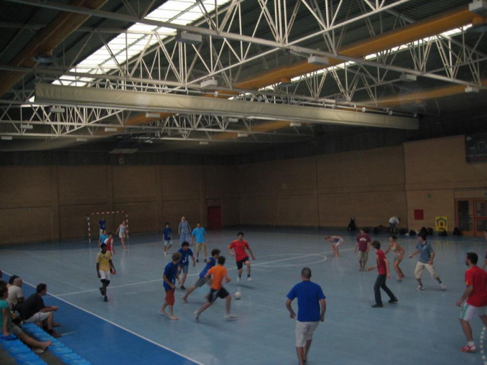 Los jóvenes disfrutaron también de actividades deportivas