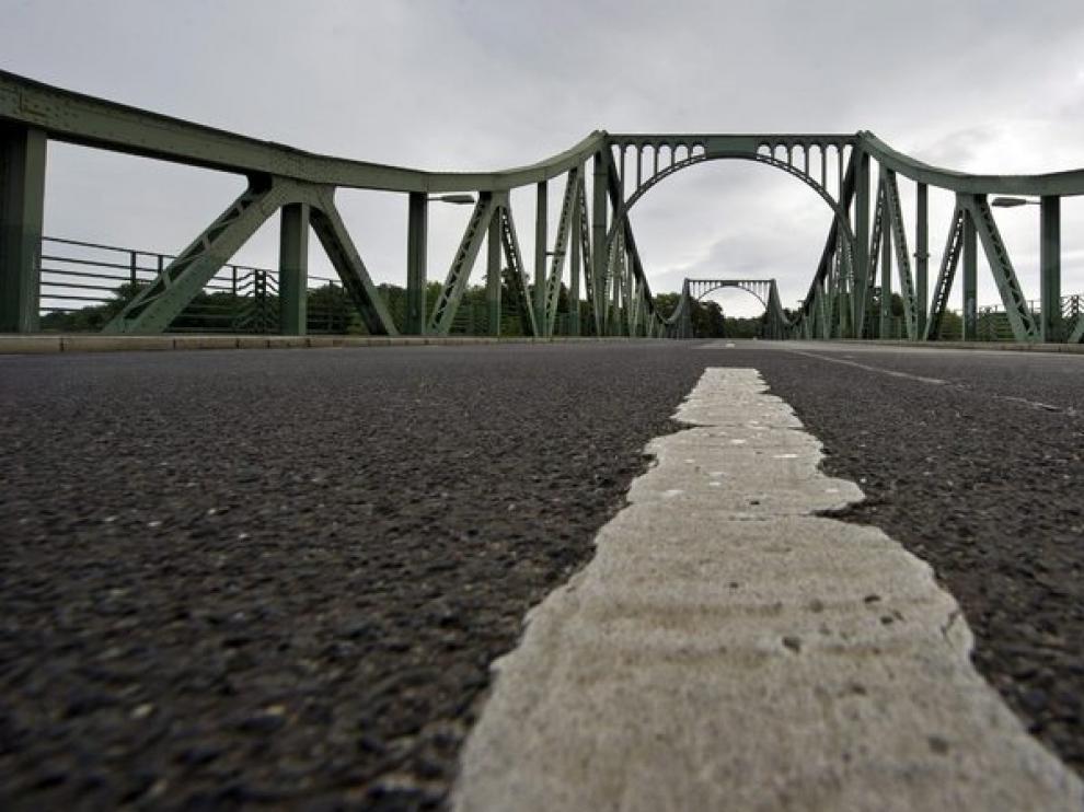 El puente Glienicker de Berlín se utilizaba por los agentes para intercambiar información de ambos lados