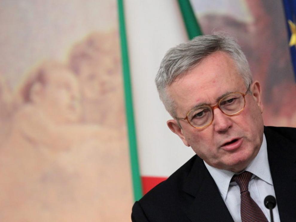 Giulio Tremonti, ministro italiano de Finanzas, ha explicado los detalles del recorte presupuestario