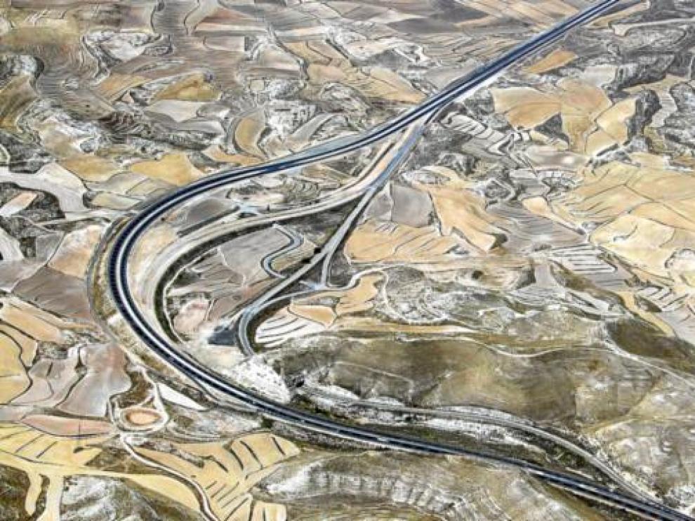 La reforma de la autovía de Madrid estará en un mes