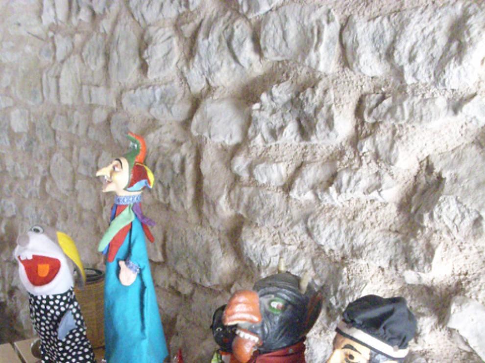 Títeres del Museo de Abizanda