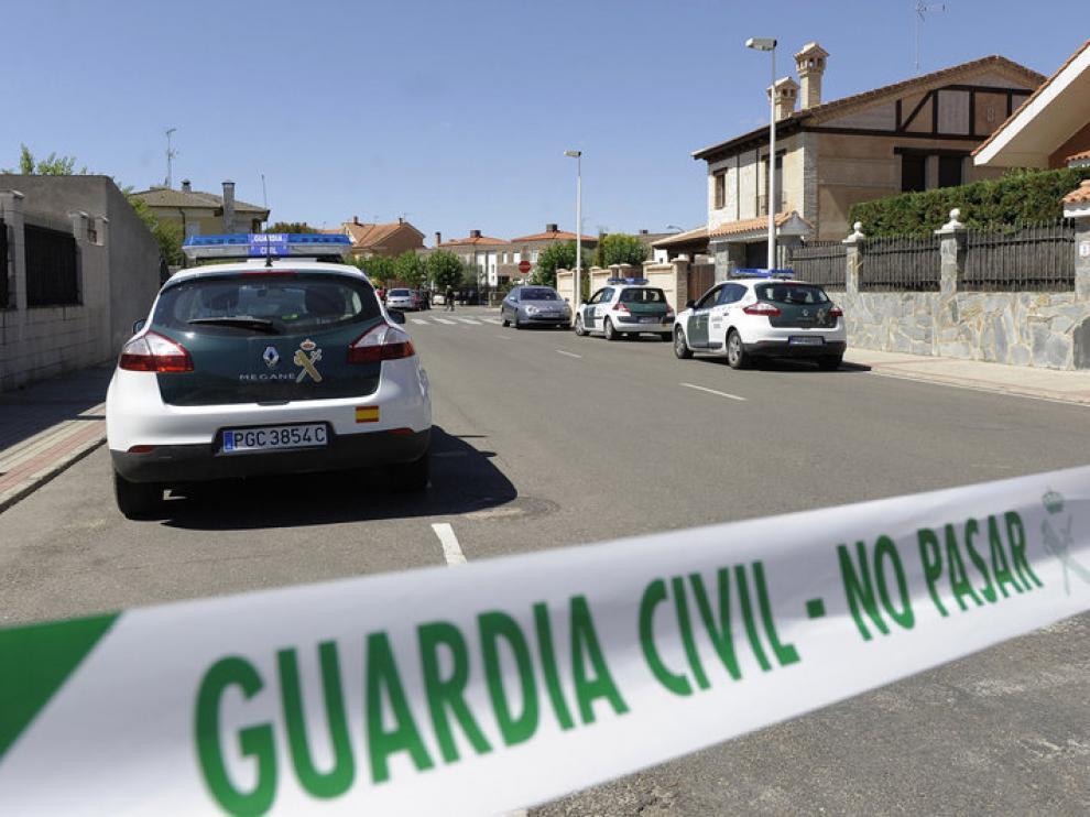 La Guardia Civil ha acordonado los alrededores del centro de discapacitados de Boecillo