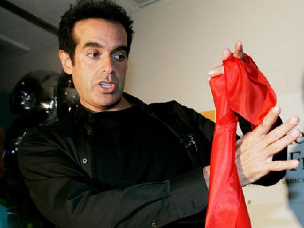 David Copperfield en una imagen de archivo.