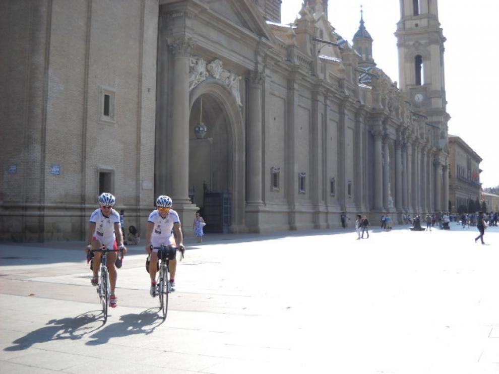 De Vicente y Gracia esperan finalizar en la Plaza del Pilar el 4 de septiembre