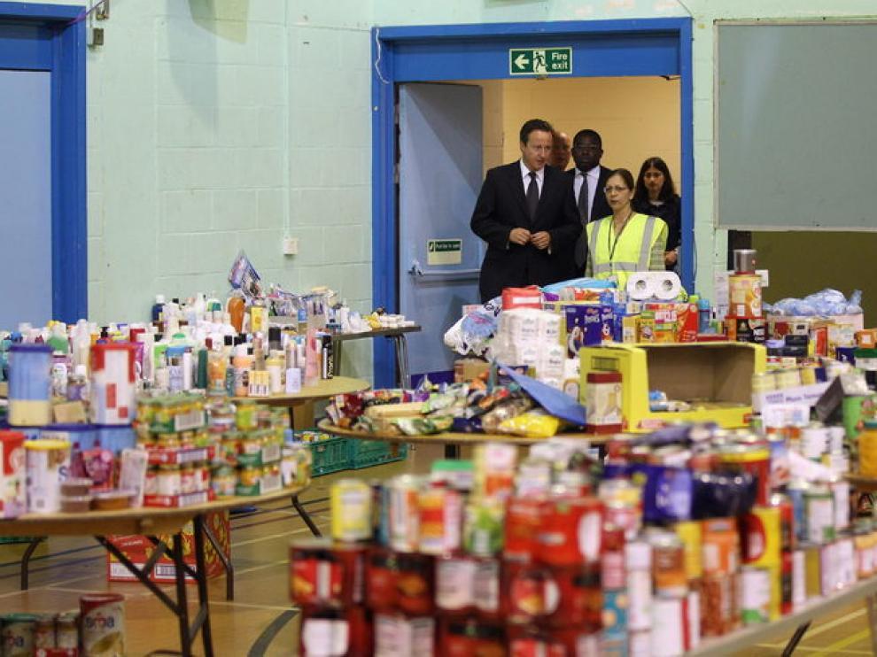 Cameron visita un centro comunitario en Tottenham