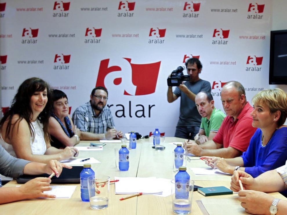 Reunión de las formaciones en San Sebastián