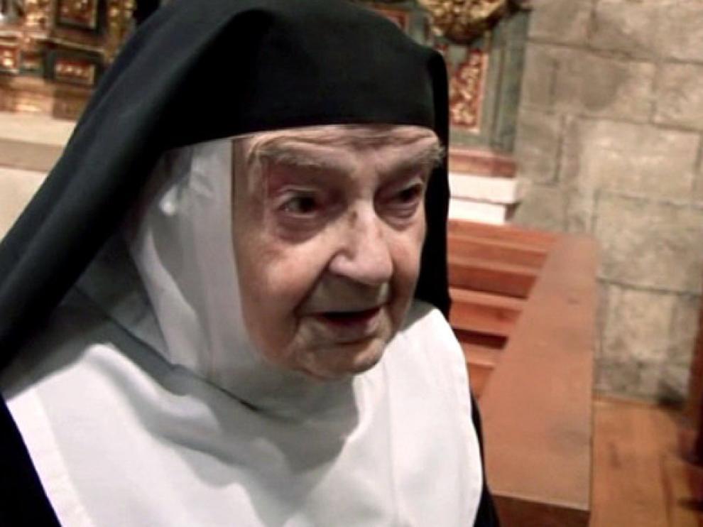 Sor Teresita ha pasado toda su vida en el convento
