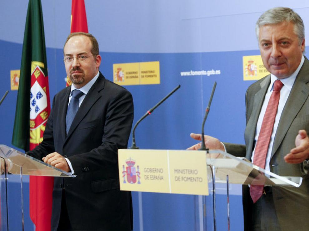 Álvaro Santos Pereira y José Blanco