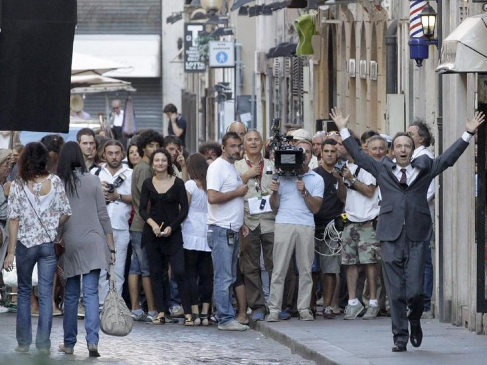 Rodaje de 'Bob Decameron', la nueva película de Woody Allen