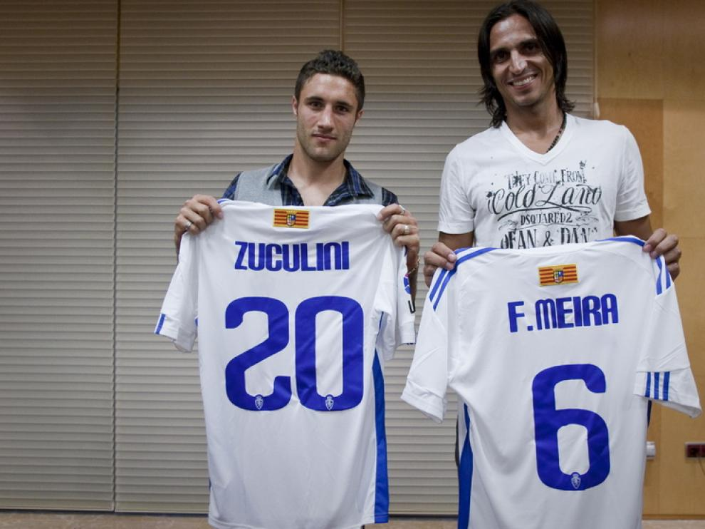 Presentación de Franco Zuculini y Fernando Meira