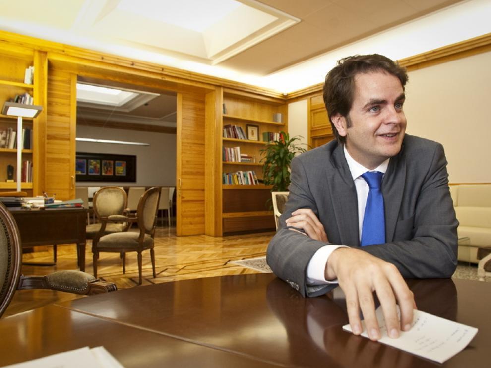 El consejero de Presidencia, Roberto Bermúdez