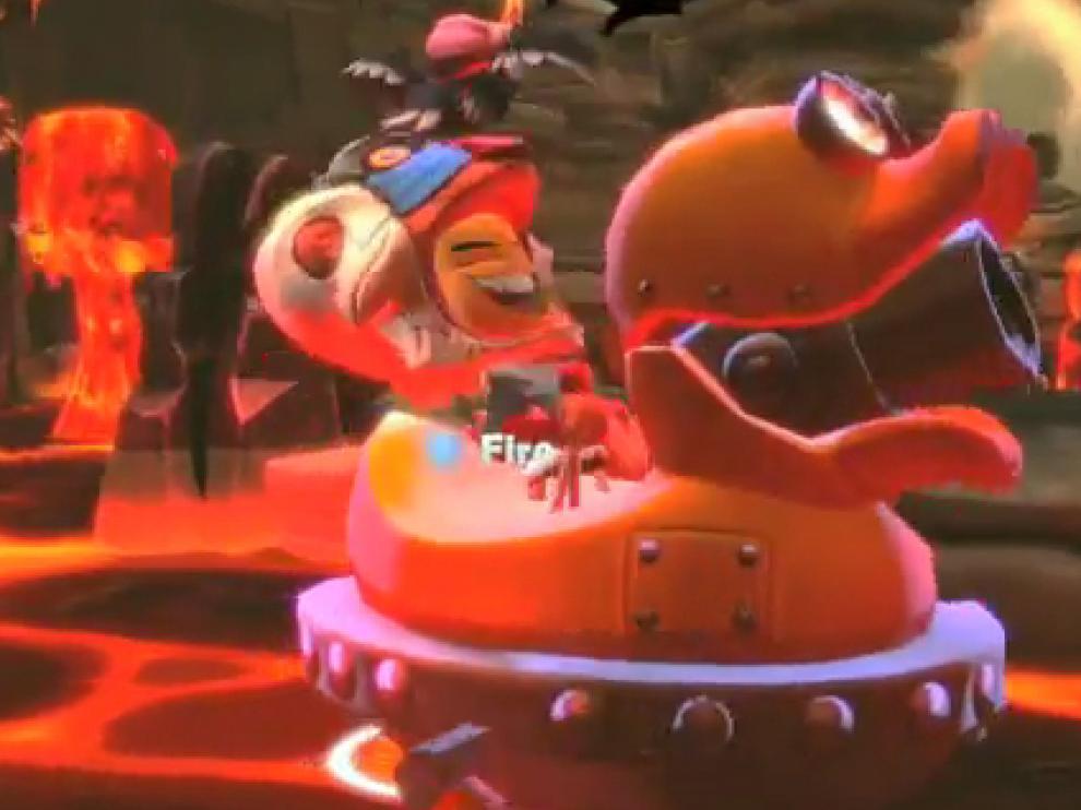 Una escena del videojuego 'Disney Universe'