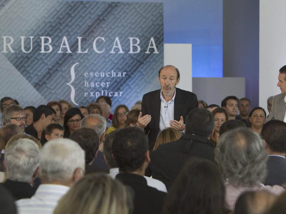Rubalcaba en Vigo
