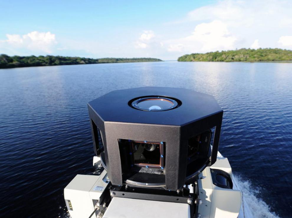 La cámara de  360º de Google recorriendo el Amazonas
