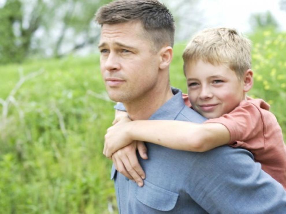 Brad Pitt, en un fotograma de 'El árbol de la vida', premio Fipresci
