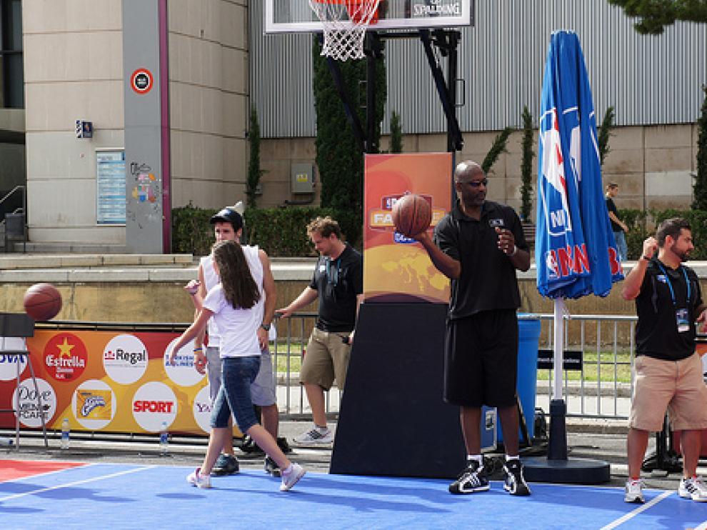 La Fanzone de la NBA llega a Salou
