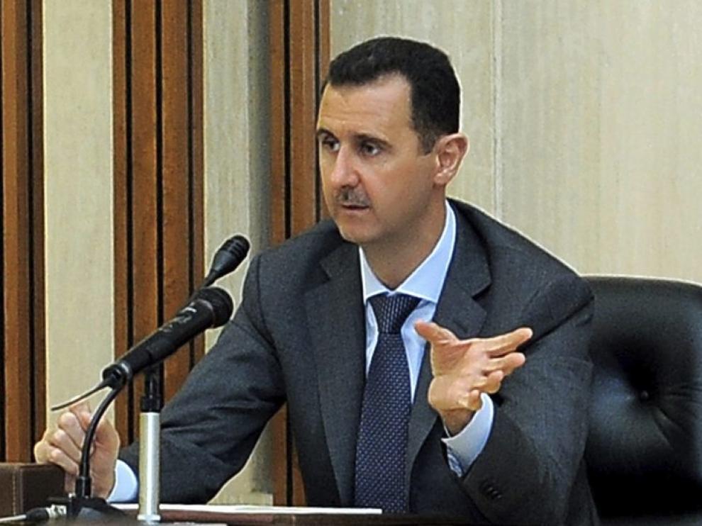 El presidente sirio, Bachar al Asad