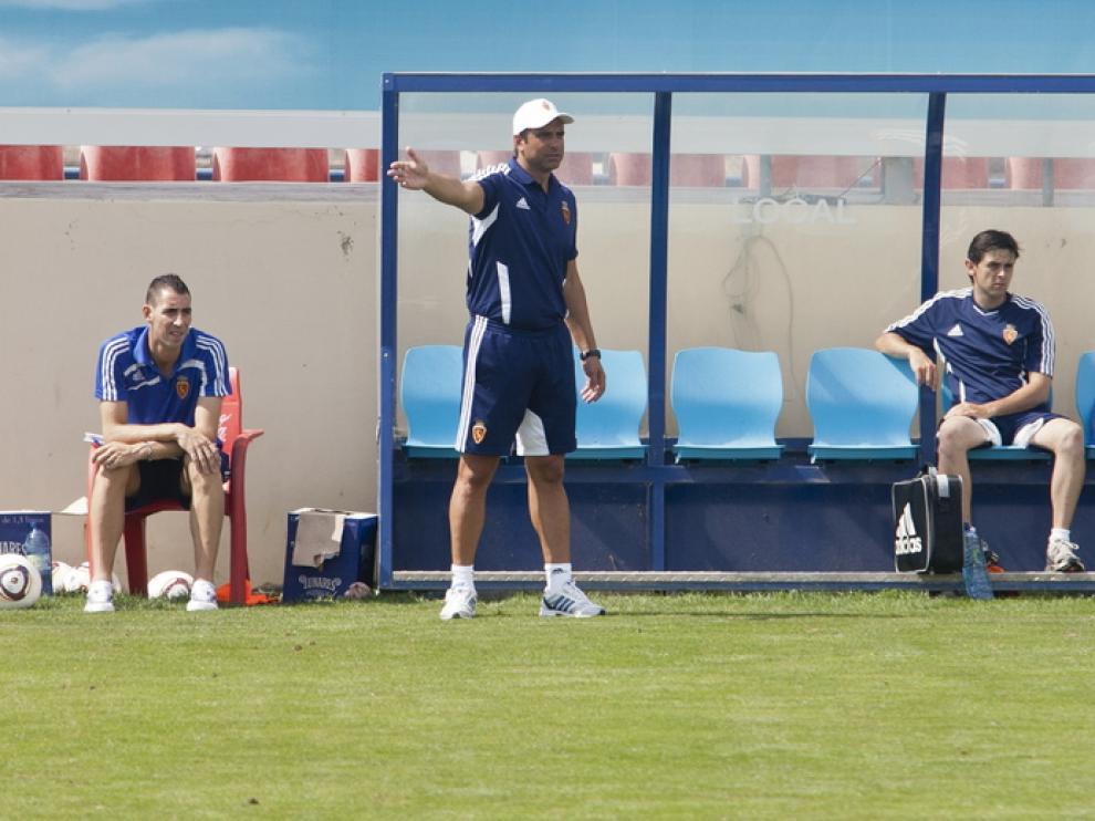 Imagen de archivo del entrenador del Zaragoza B