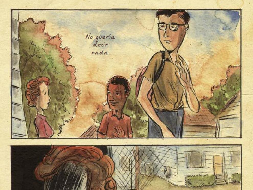 Imagen del cómic