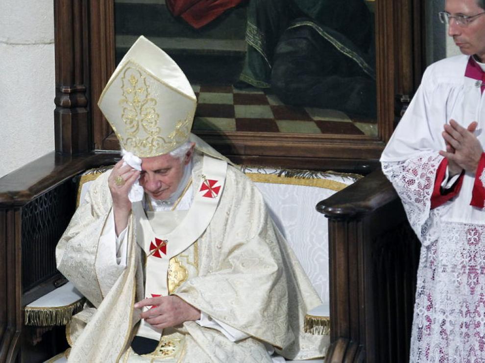Misa de Benedicto XVI en la catedral de La Almudena