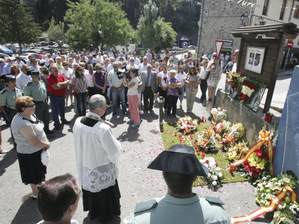 Homenaje en Sallent de Gállego