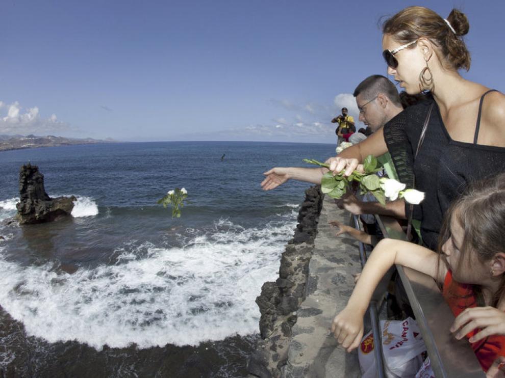 Homenaje realizado en Gran Canaria