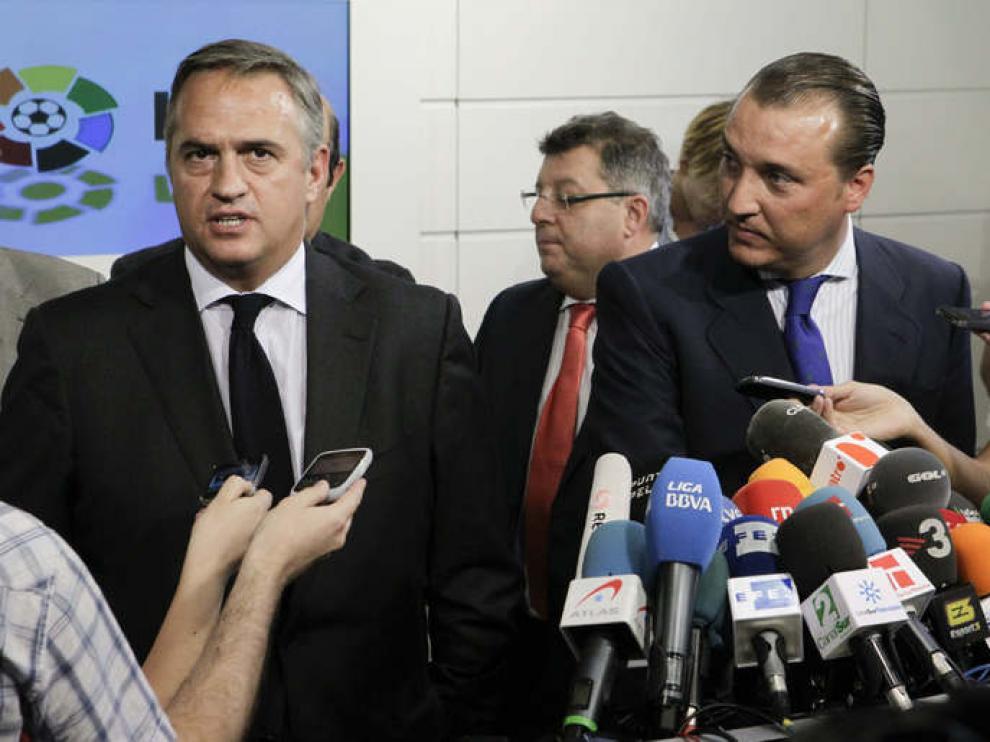 Astiazarán, presidente de la LFP, tras la reunión de con laAFE