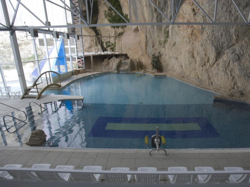 'Imagen de archivo del balneario de Sicilia en Jaraba que se incluye en los descuentos