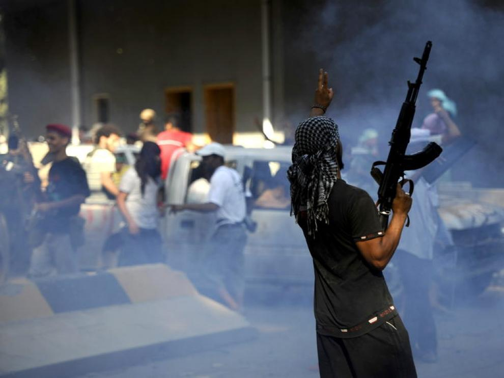 Disturbios en las calles de la capital libia