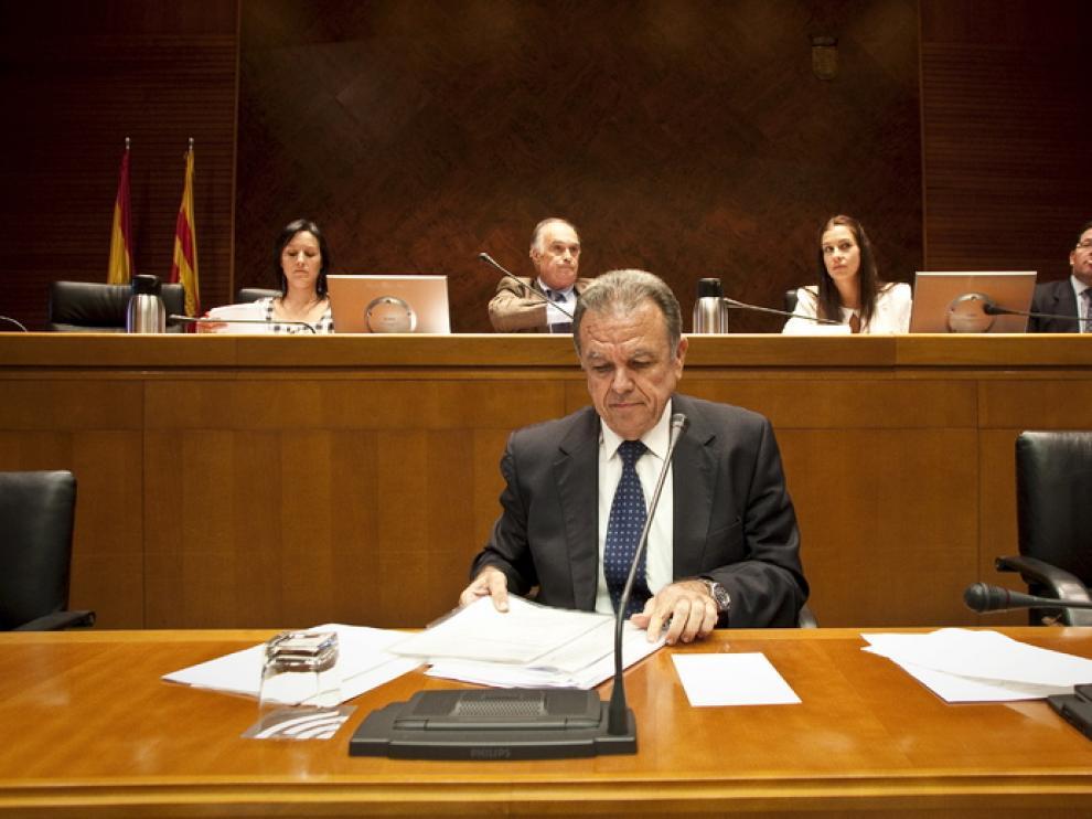 El consejero de Agricultura y Medio Ambiente, Federico García López