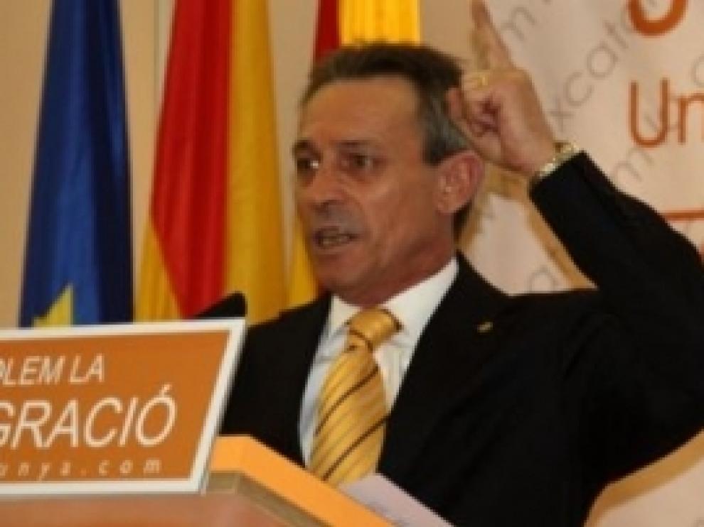 Josep Anglada, líder de Plataforma per Catalunya