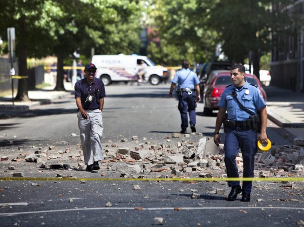 El terremoto no causó grandes daños, ni personales ni materiales
