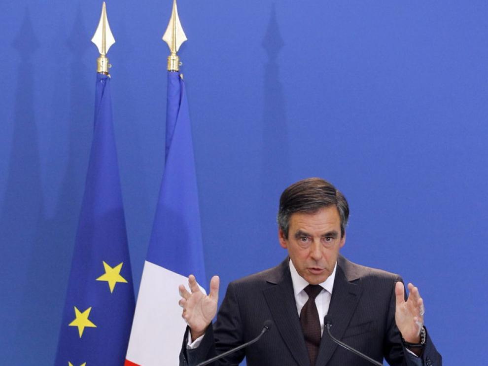 El primer ministro francés, Francois Fillon