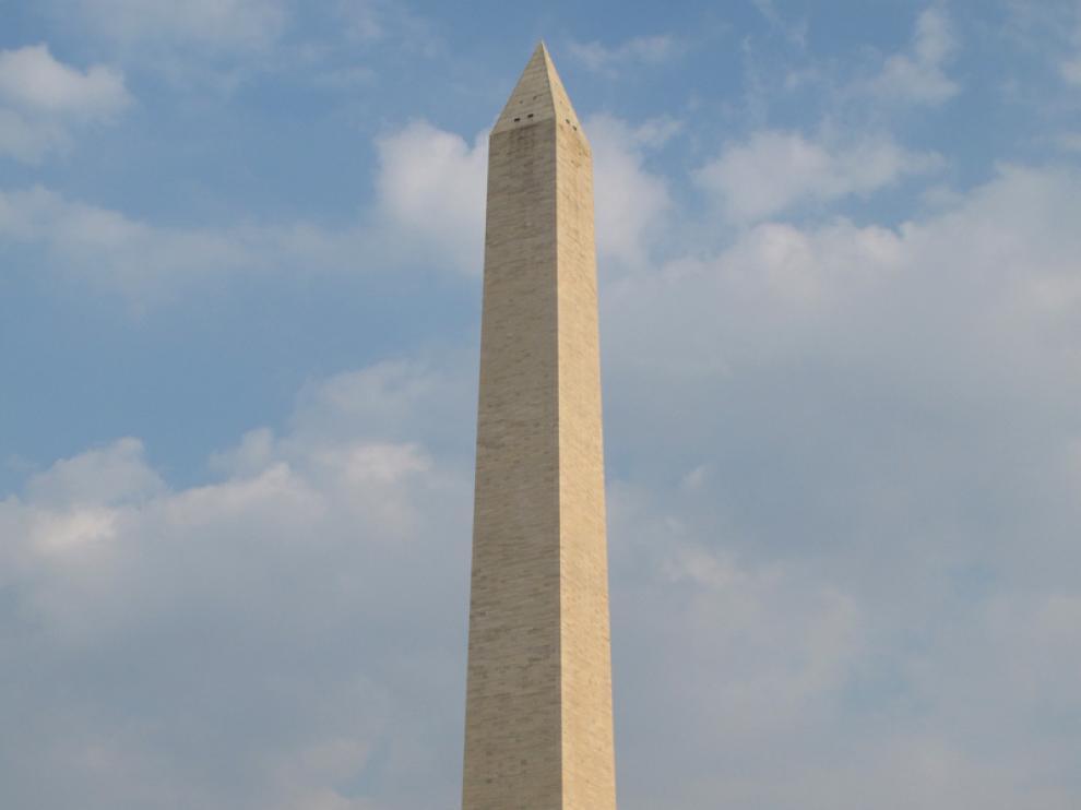 Imagen del obelisco, en Washington