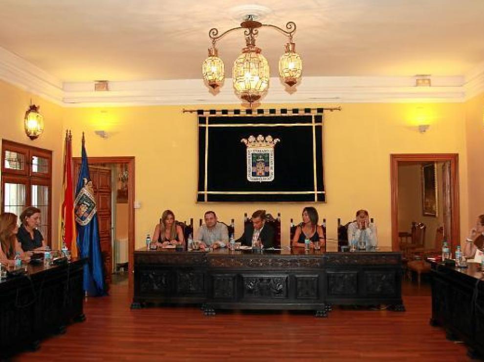 El Ayuntamiento de Tarazona aprobó ayer alquilar una nave para desarrollo industrial.