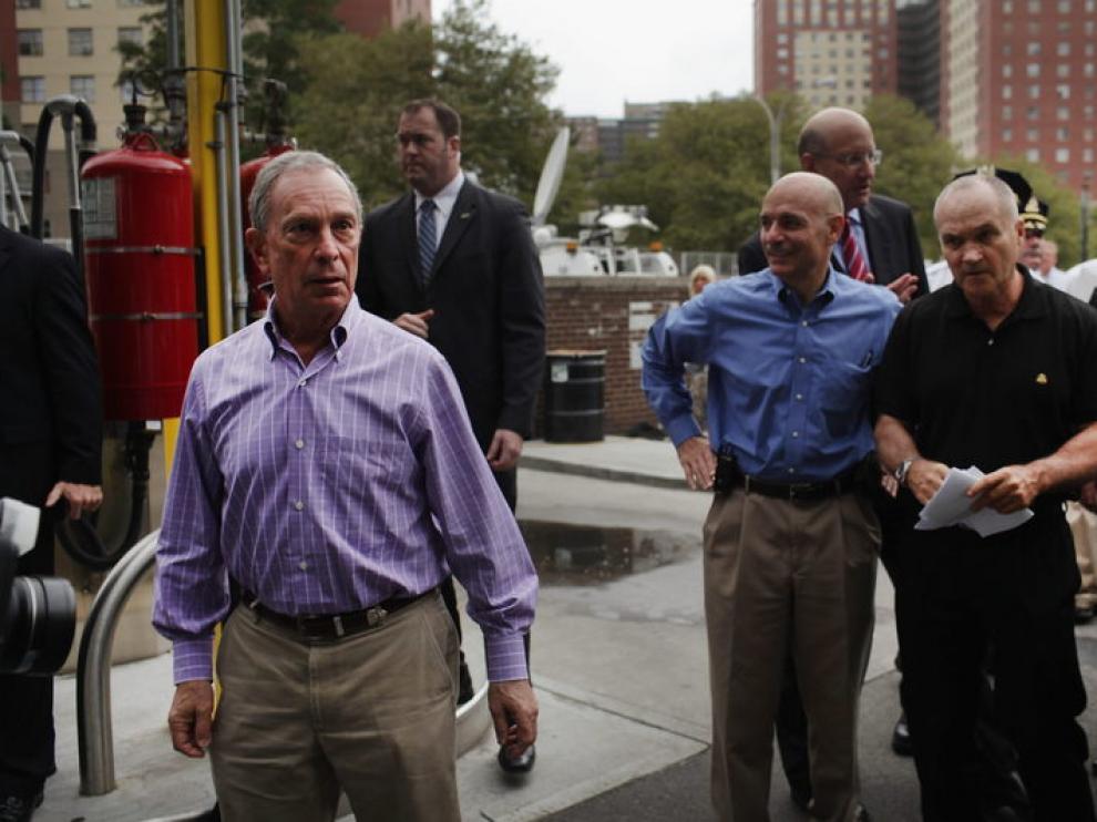 El exalcalde, en las calles de Nueva York