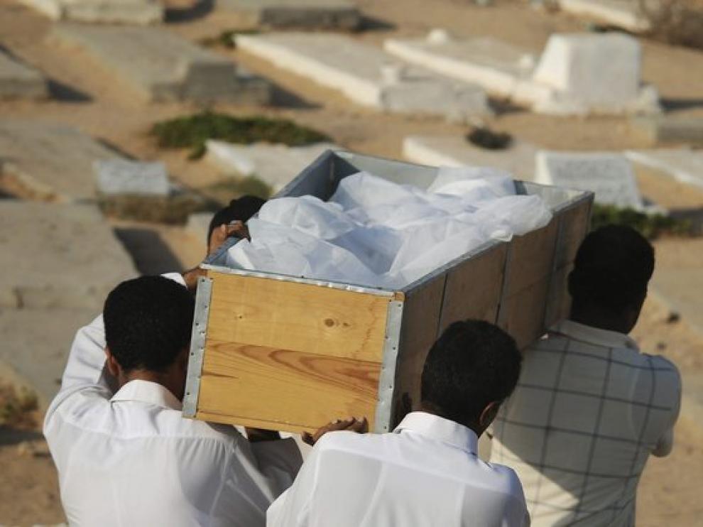 Un funeral en Trípoli, Libia