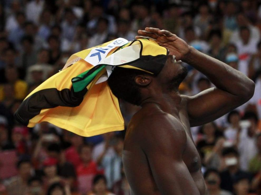 Usain Bolt descalificado