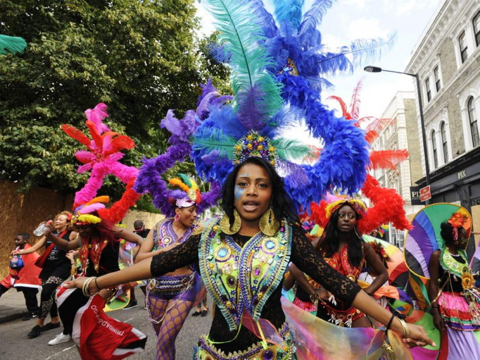 Carnaval en las calles de Notting Hill