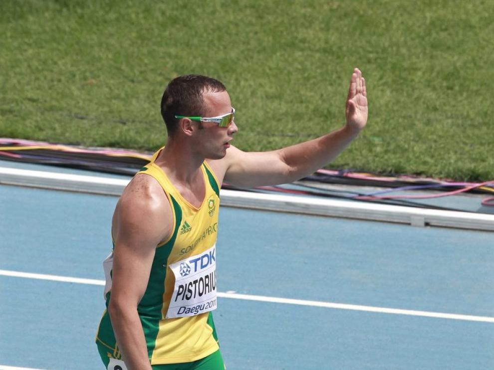 Oscar Pistorius se ha convertido en el primer discapacitado que compite en un torneo mayor