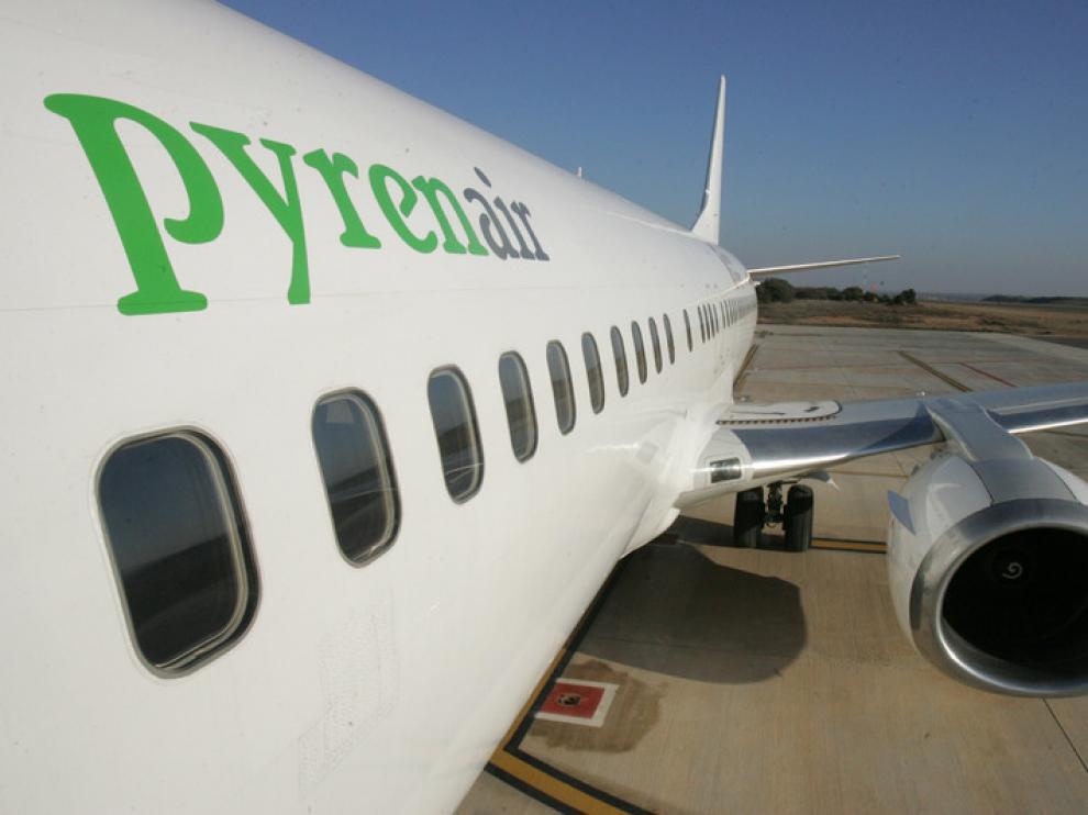 Imagen de archivo de un avión de la compañía Pyrenair