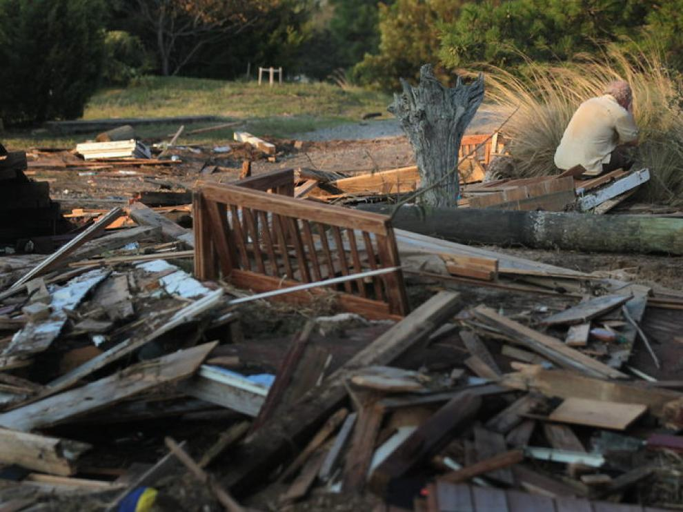 Los efectos de 'Irene' en Carolina del Norte (EE. UU.)