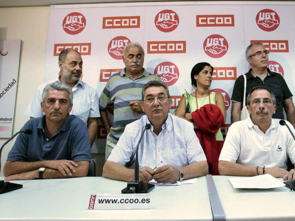 UGT y CC. OO. se movilizarán el 6 de septiembre