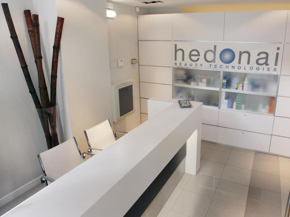 Centro de salud y estética Hedonai, recepción