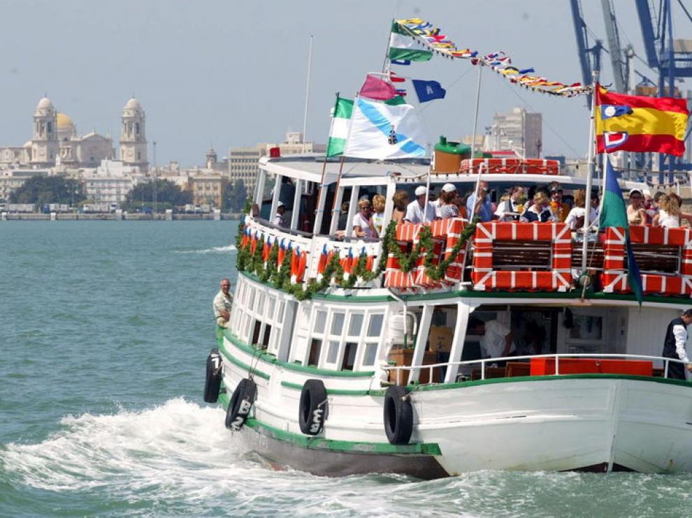 Imagen del popular barco el 'Vaporcito'