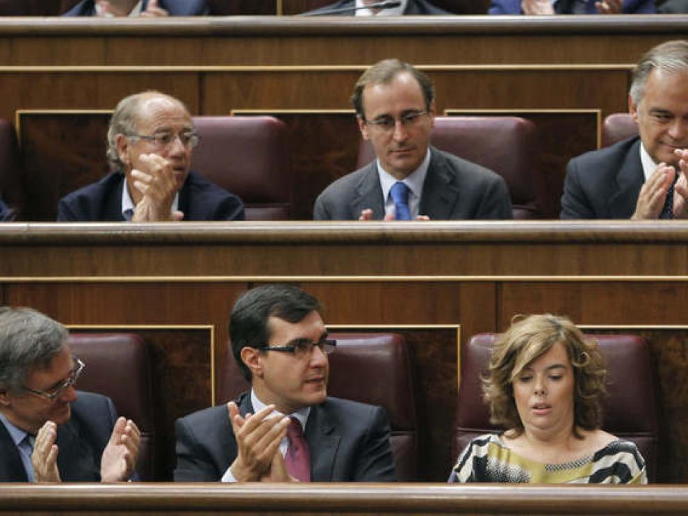 Los dirigentes del Partido Popular se muestran satisfechos con la reforma