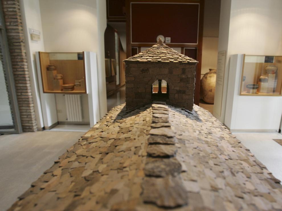Previsiblemente se expondrá junto a la reproducción del monasterio de Santa Cruz de la Serós.
