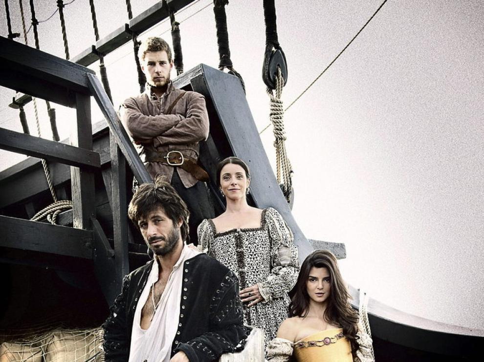 Elenco de 'El Corazón del Océano', la nueva serie de Antena 3
