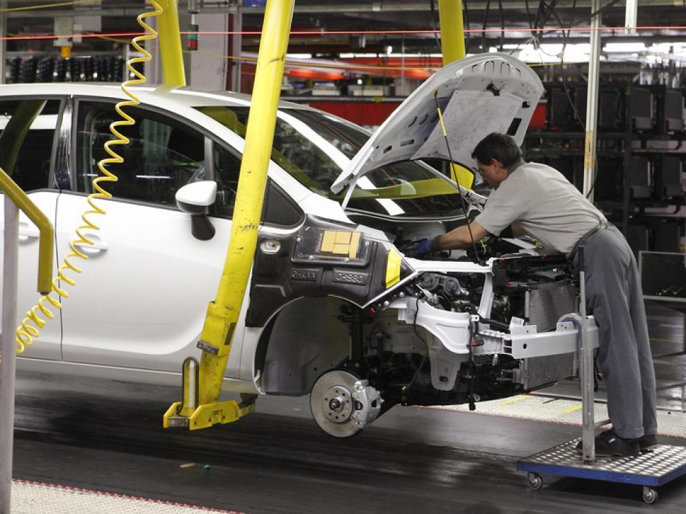 Instalaciones de la planta de Opel en Figueruelas.