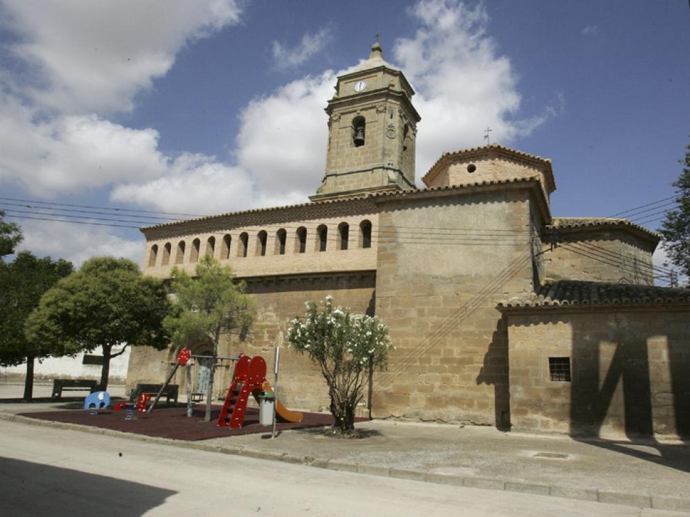 La iglesia data de finales del siglo XII.